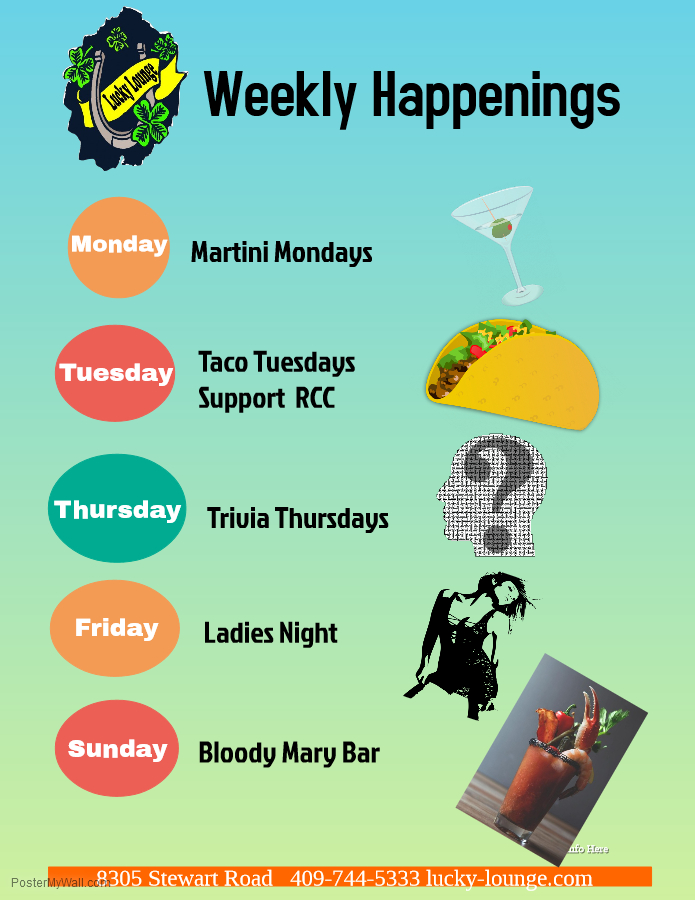 Weekly Happenings